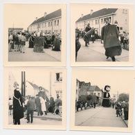 GENT EILAND MALEM  4 FOTO'S 9X9 CM  1963 - Gent
