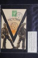 FRANCE - Oblitération Et Carte De L 'Exposition Contre Le Bolchevisme à Paris En 1942 -  L 50616 - Marcophilie (Lettres)