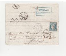 Siège De PARIS  Sortie De Paris   Après Signature De L'Armistice   Pour Jersey Signature Albert BARRE Certificat ROUMET - 1870 Siège De Paris
