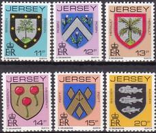Jersey, 1981, 264/69, Freimarken: Familienwappen.  MNH ** - Jersey