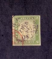 Antichi Stati Sardegna 5 Cent Usato  - Franc - Sardegna