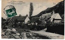 Cantal Illustré Vallée De Mars  LE FALGOUX Village De La Pebrelle - Autres Communes