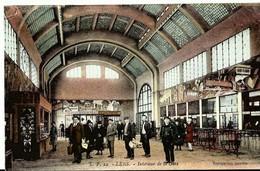 CPA  62 LENS Interieur De La Gare , Animée , Pas De Calais - Lens