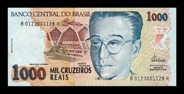 Brasil Brazil 1000 Cruzeiros Reais 1993 Pick 240 SC UNC - Brazil