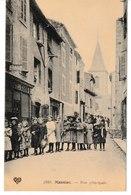 Cantal MASSIAC Rue Principale (belle Animation, Enfants) - Autres Communes