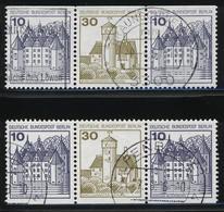 Berlin, MiNr. W 69 + W 70, Gestempelt; A-3351 - [5] Berlin