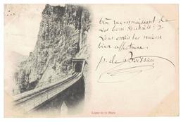 38-Ligne De La Mure,précurseur 1900 Beaux Tampons - La Mure