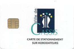 CARTE DE STATIONNEMENT CHIP CAR CARTE A PUCE CASSIS  06 ALPES-MARITIMES - Francia