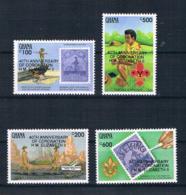 Ghana 1993 Briefmarken Mi.Nr. 1842/45 Kpl. Satz ** - Ghana (1957-...)