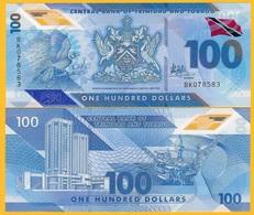 Trinidad & Tobago 100 Dollars P-new 2019 Polymer UNC Banknote - Trindad & Tobago