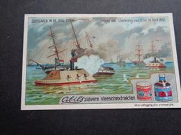Chromo ( 985 )   Publicité  Reclame  -  CIBILS  Zeeslag Van Charleston - Otros