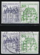 Berlin, MiNr. W 73 + W 74, Gestempelt; A-3351 - [5] Berlin