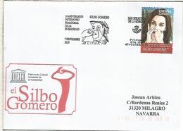 SAN SEBASTIAN DE LA GOMERA CANARIAS CC CON MAT PRIMER DIA SILBO GOMERO UNESCO - 1931-Hoy: 2ª República - ... Juan Carlos I