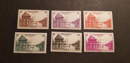 Dahomey Yvert 125-130* - Unused Stamps