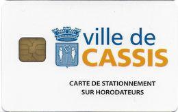 CARTE DE STATIONNEMENT CHIP CAR CARTE A PUCE VILLE DE CASSIS 06 ALPES-MARITIMES - Francia