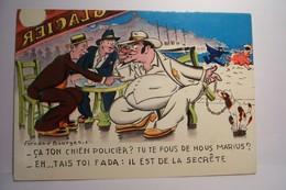 CA TON CHIEN POLICIER  ?  ( Bourgeois Fernand , Illustrateur ) - Bourgeois