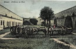 Dinant Intérieur Du Fort Circulée En 1911 - Dinant