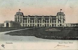 Ostende Royal Palace Hôtel Circulée En 190 ? - Oostende