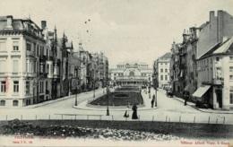 Ostende Avenue Léopold Circulée En 1904 Ed.Albert Sugg Série 7 N° 98 - Oostende