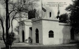 Liège Expo Universelle De 1905 Colonies Françaises Et Protectorats Pavillon De L'Algérie - Liège