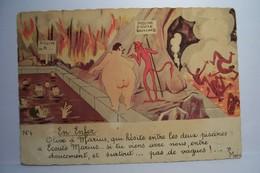 EN  ENFER    -  ( Bourgeois Fernand , Illustrateur )  - - Bourgeois