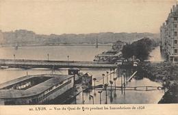 Lyon 1 Et 2 Quai De Retz Jean Moulin Inondations Crue 1856 Bains Publics Bruiset & Savey 21 - Lyon