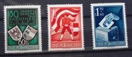 Österreich 1950, Volksabstimmung ANK 964-66, MNH Postfrisch - 1945-.... 2nd Republic