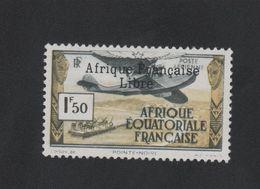 Faux Afrique équatorale Poste Aérienne N° 14 1 F 50 Gomme Charnière - Unused Stamps