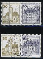Berlin, MiNr. W 65 + W 66, Gestempelt; A-3355 - [5] Berlin