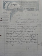 Lille - Emile Carlier Fabrique De Voitures En Tous Genres - France