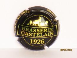 Capsules Ou Plaques De Muselet Bière Brasserie Castelain 1926 Bière De Garde - Beer