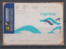 ARGENTINA 2012 ATM VILLA REAL - Affrancature Meccaniche/Frama