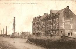 Marloie Place De La Gare Et Station Du Vicinal - België