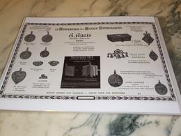 ANCIENNE PUBLICITE DES BIJOUX SYMBOLIQUES A.AUGIS LYON 1913 - Bijoux & Horlogerie