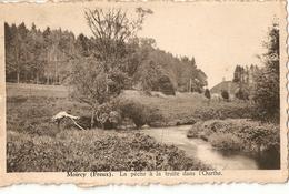Moircy ( Freux ) La Pêche à La Truite Dans L'ourthe - België