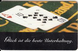 GERMANY(chip) - Black Jack, Die Bayerischen Spielbanken(O 946), Tirage 6000, 09/98, Used - Spelletjes