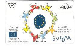 Austria - Österreich - Europäische Union - Römische Verträge - Europa - 702A - Zodiaco