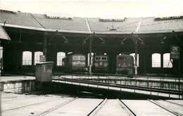 060120A TRANSPORT TRAIN CHEMIN DE FER - PHOTO BREHERET 1955 - 74 ANNEMASSE Le Dépôt De La Gare - Annemasse