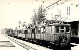 060120A TRANSPORT TRAIN CHEMIN DE FER - PHOTO BREHERET CIRCA 1950 - 38 LA MURE PRM 1938 - La Mure