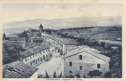 Marche  - Pesaro - Candelara  - Ingresso Al Paese - Bella Animata - F. Piccolo - Italia