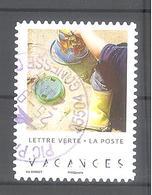 France Autoadhésif Oblitéré (n°12 : Vacances 2019) (cachet Rond) - Usati