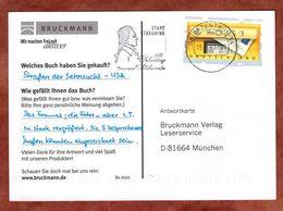 Karte, Briefkasten, MS Schikaneder Straubing Briefzentrum 94, Nach Muenchen 2002 (89323) - BRD