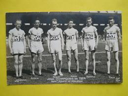 Jeux Olympiques De 1924 ,3000 M,équipe De Finlande - Nuoto