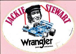 Sticker - JACKIE STEWART - Elf - Wrangler Jeans And Jackets - Stickers