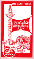 Sticker - 1° Marathon Wommelgem A.V. - AVVV - 1980 - Autocollants