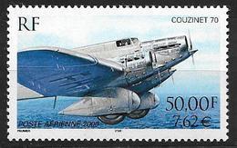 France 2000 Poste Aérienne N° 64, Couzinet 70, à La Faciale - Poste Aérienne