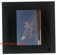 Photo Ancienne Diapositive - HAUTVILLERS ( Marne ) - Enseigne De Magasin - P. Dizy Magenta Epernay Saint Imoges - Diapositive