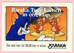 Sticker - Baraka - Twee Kansen In één Klap - Kat En Muizen - Nationale Loterij - Stickers