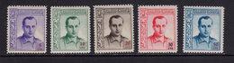 España 1937. Beneficencia. Primo De Rivera. Ed NE 14 / 18. MNH. **. - Wohlfahrtsmarken