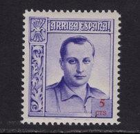 España 1937. Beneficencia. Primo De Rivera. Ed NE 14 Con Numero. MNH. **. - Wohlfahrtsmarken